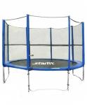 Батут c сеткой STARFIT TR-201 244 см, синий