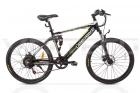 Электровелосипед UBERBIKE S26 (48V-350W) черный/белый