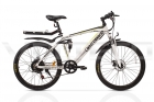 Электровелосипед UBER BIKE S26 (48V-500W) белый