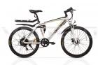 Электровелосипед UBERBIKE S26 (48V-500W) белый